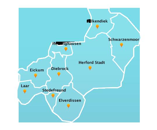 Touren Dachrinnenreinigung in Herford